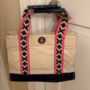Used small Tory Burch tote